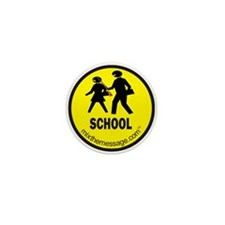 School Mini Button (10 pack)