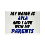 my name is ayla and I live with my parents Rectang