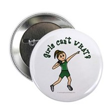 "Light Green Shot Put 2.25"" Button"
