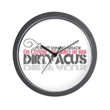 Dirty ACU's Wall Clock
