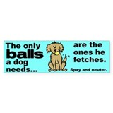 Neuter Support Bumper  Bumper Sticker