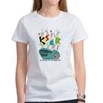 KSER Women's T-Shirt - 20th Anniversary Edition