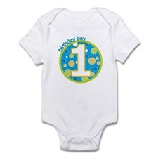 first birthday boy t-shirts Infant Bodysuit
