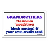 GRANDMOTHERS Rectangle Decal