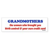 GRANDMOTHERS Bumper Sticker (10 pk)