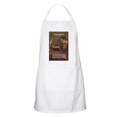French Poets Baudelaire BBQ Apron