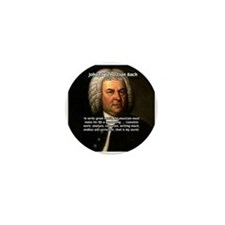 Composer J.S. Bach Mini Button (10 pack)