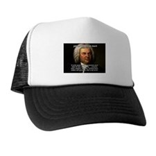 Glory God Music J. S. Bach Trucker Hat
