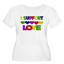 I support Love T-Shirt