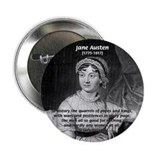 Women in History Jane Austen Button