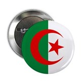 "Flag of Algeria 2.25"" Button"