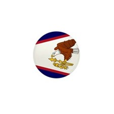Flag of American Samoa Mini Button (10 pack)