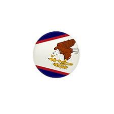 Flag of American Samoa Mini Button