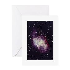 Gaseous Nebula Greeting Card