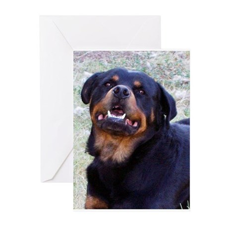 Rottweiler Greeting Cards (Pk of 20)