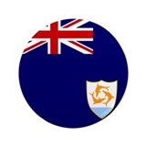 "Flag of Anguilla 3.5"" Button"
