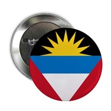 "Flag of Antigua and Barbuda 2.25"" Button (10"