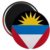 Flag of Antigua and Barbuda Magnet