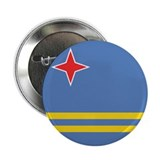 "Flag of Aruba 2.25"" Button"