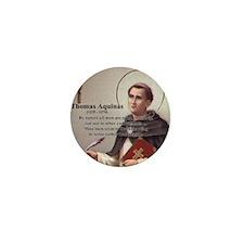 Theology Thomas Aquinas Mini Button (10 pack)