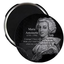 "Courage Marie Antoinette 2.25"" Magnet (10 pack)"
