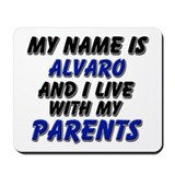my name is alvaro and I live with my parents Mouse