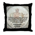 Anaximander Apeiron Throw Pillow