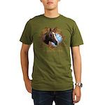 I'd Rather Be Riding Horses Organic Men's T-Shirt