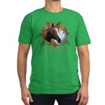 I'd Rather Be Riding Horses Men's Fitted T-Shirt (