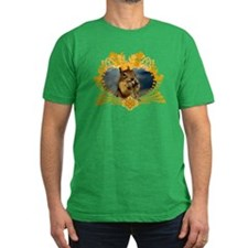 Squirrely Squirrel Crest T