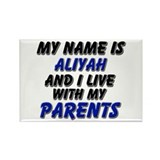 my name is aliyah and I live with my parents Recta