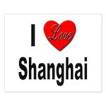 I Love Shanghai China Small Poster