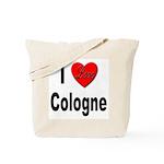 I Love Cologne Germany Tote Bag