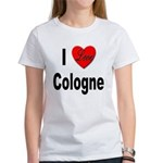 I Love Cologne Germany (Front) Women's T-Shirt