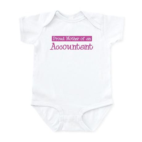 Proud Mother of Accountant Infant Bodysuit