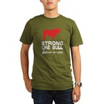 Strong Like Bull! Organic Men's T-Shirt (dark)