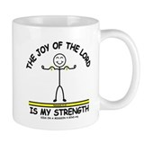 THE JOY OF THE LORD Small Mugs