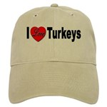 I Love Turkeys Cap