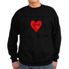 More Love With a BBW Sweatshirt