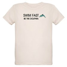 TOP Swim Slogan T-Shirt