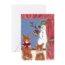 Pembroke Welsh Corgi Greeting Cards (Pk of 10)