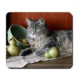 Blue Tabby Kitten Mousepad