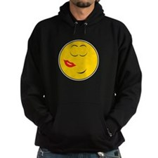 Been Kissed Smiley Face Hoodie