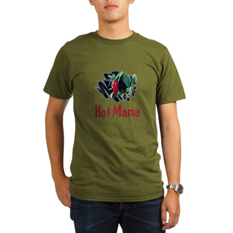 Hot Mama Organic Men's T-Shirt (dark)