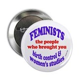 "Fem wmstudies 2.25"" Button"