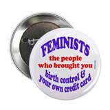 "Fem credit 2.25"" Button (10 pack)"