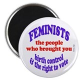 Fem vote Magnet