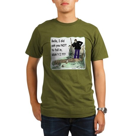 Funny Bella Organic Men's T-Shirt (dark)