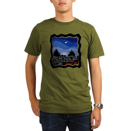Twilight Meteor Organic Men's T-Shirt (dark)