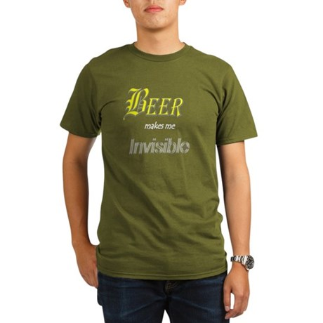 Invisible Beer Organic Men's T-Shirt (dark)